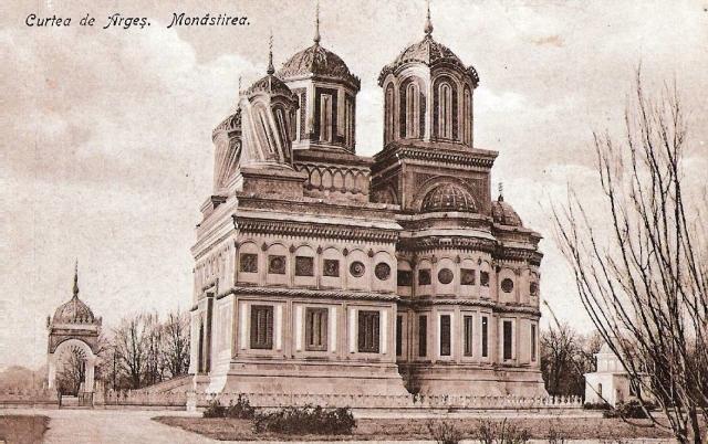 manastirea arges antebelica