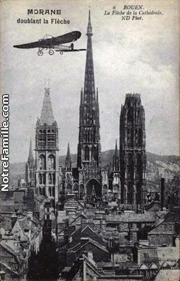 cartes-postales-La-Fleche-de-la-Cathedrale-ROUEN-