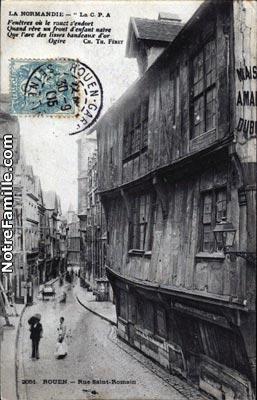cartes-postales-LA-NORMANDIE-ROUEN-76000-i