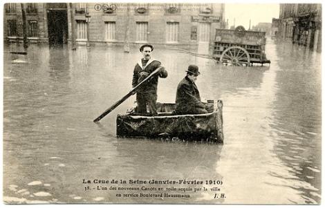 paris 1910 inundatii