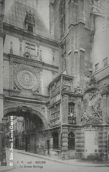 Rouen_froidure_Grosse_horloge_1916