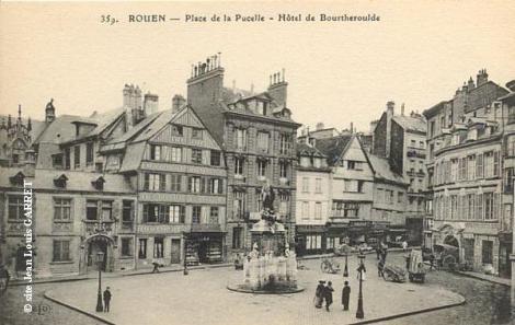 Rouen_place_pucelle