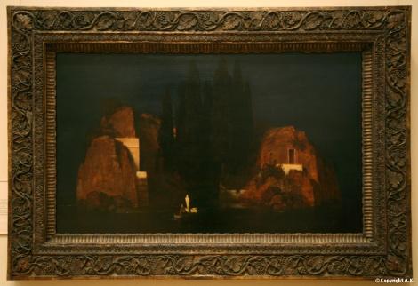 Arnold Böcklin insula mortii
