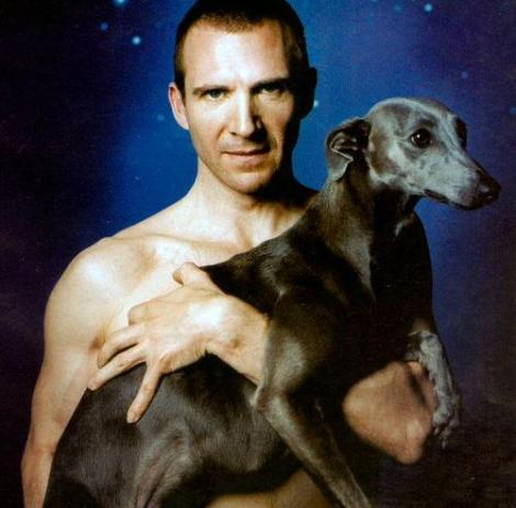 ralph fiennes and a whippet tumblr_kwqs2nNjl81qajrzpo1_500